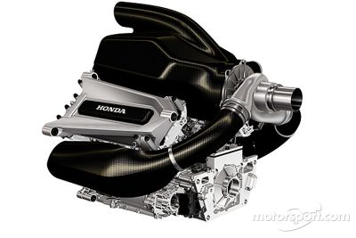 Honda Formula 1, presentazione power unit