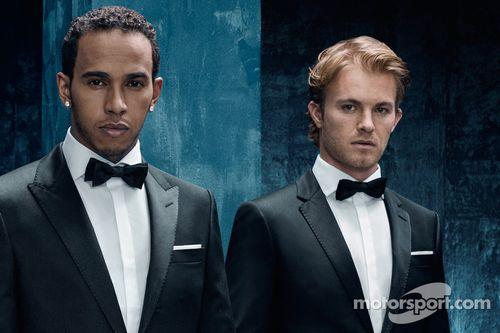 Mercedes GP - Hugo Boss announcement