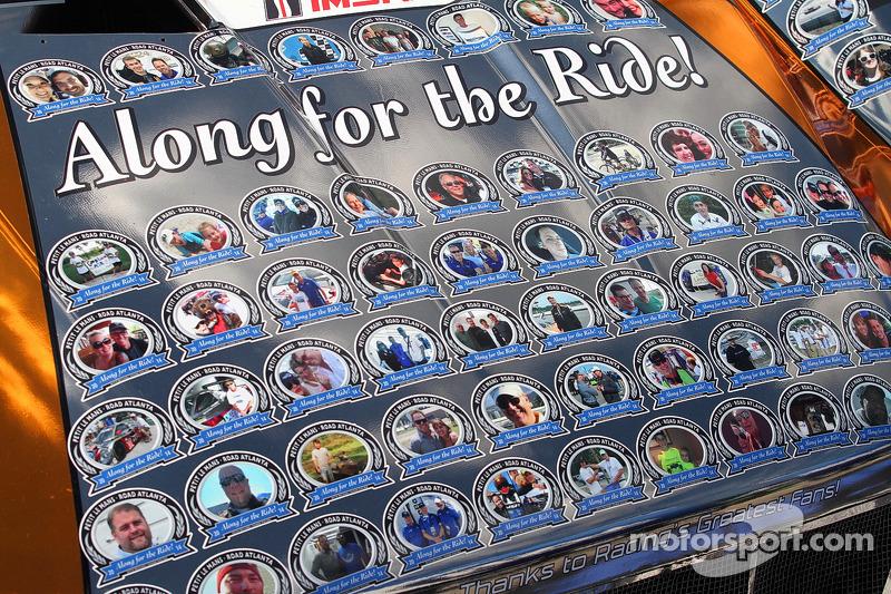 Livrea speciale per la #60 Michael Shank Racing con Curb/Agajanian Ford EcoBoost/Riley