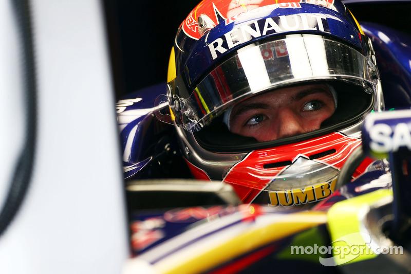 Max Verstappen, Scuderia Toro Rosso STR9 piloto de prueba