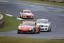 #42 Team Sahlen Porsche Cayman: Wayne Nonnamaker, Michael Valiante