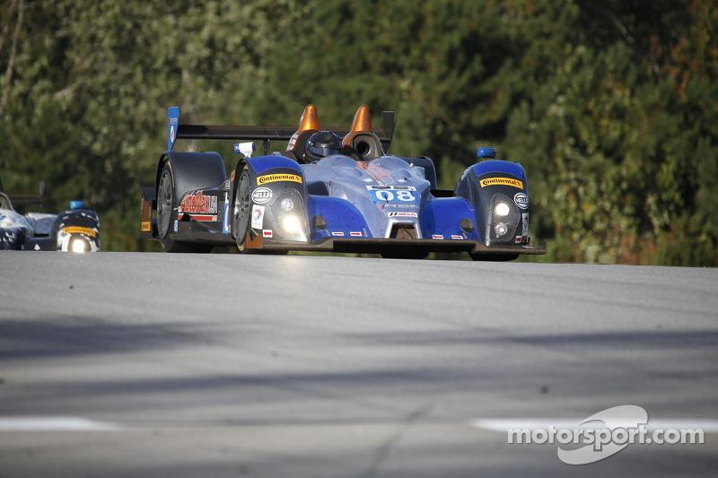 #08 RSR Racing Oreca FLM09 雪佛兰: 克里斯·卡明, 杰克·霍克斯沃思, 鲁斯蒂·米切尔