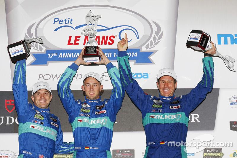 GTLM podio: vincitori Lupo Henzler, Sellers Bryan, Marco Holzer