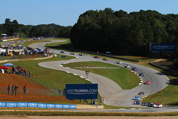 起步: #5 Action Express Racing Corvette DP: Joao Barbosa, Christian Fittipaldi, 塞巴斯蒂安·布尔戴斯 ,领先