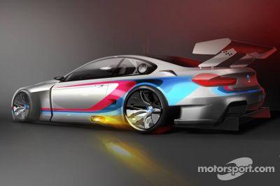Renderização do 2016 BMW M6 GT3