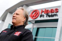Gene Haas au siège de Haas F1 Team à Kannapolis, N.C.