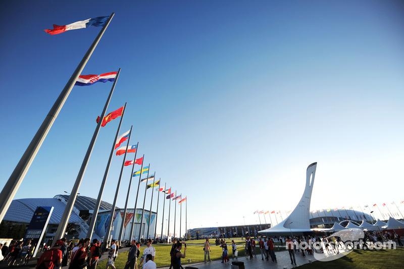 Fanzone in Sochi