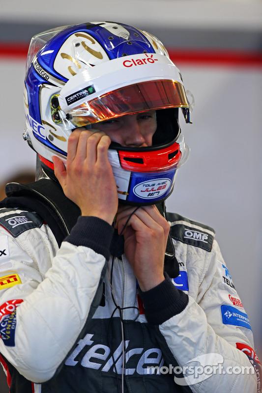 Sergey Sirotkin, Sauber piloto de testes