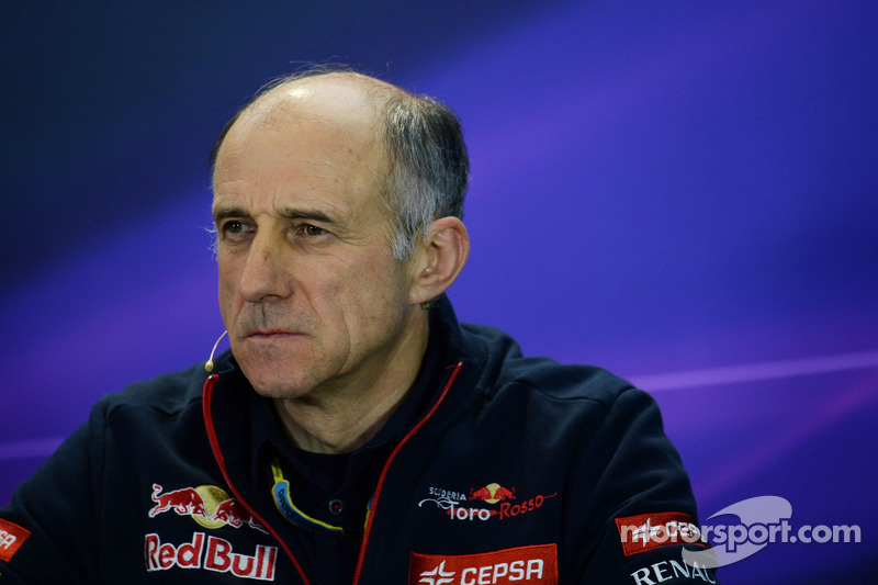 Franz Tost, Scuderia Toro Rosso Takım Müdürü FIA Basın Konferansı'nda