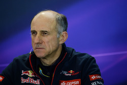 FIA-Presekonferenz: Franz Tost, Teamchef Scuderia Toro Rosso
