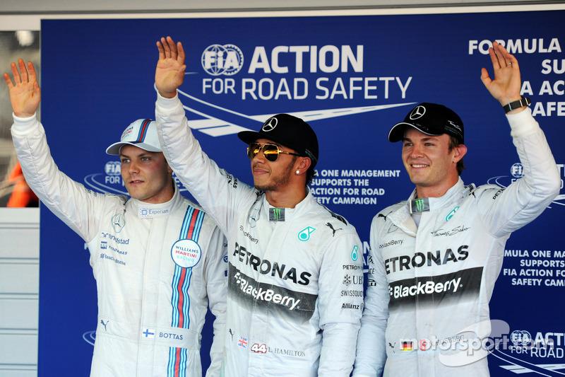 La primera sesión de clasificación del GP de Rusia