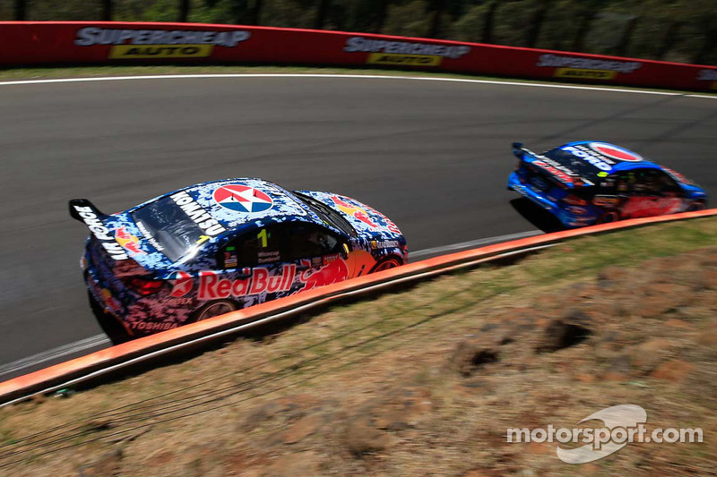 Jamie Whincup y Paul Dumbrell
