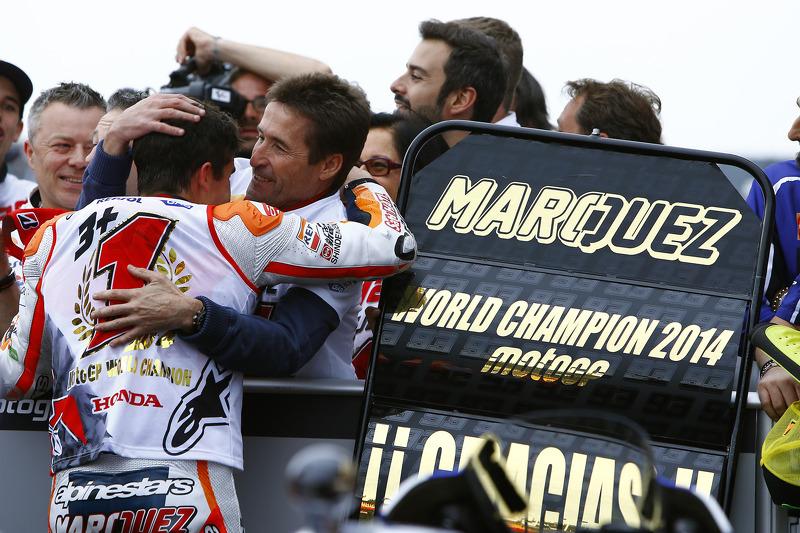 2014 campeón Marc Márquez, Repsol Honda Team