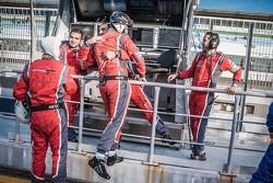 Sebastien Loeb Racing Team Celebrating