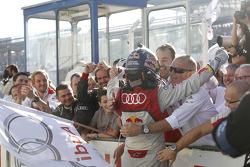 Ganador Mattias Ekstrom, Audi Sport Team Abt Sportsline, Audi A5 DTM