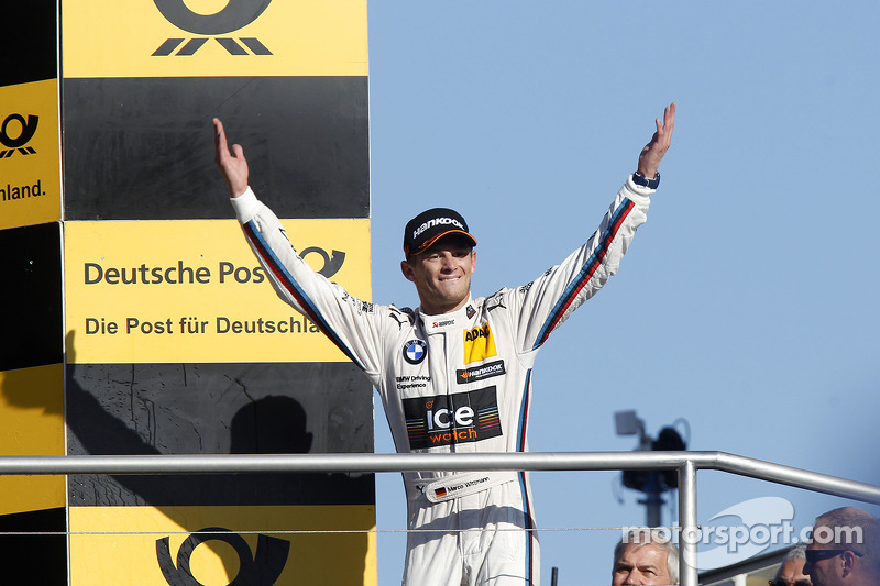 Şampiyona Podyumu, Marco Wittmann, BMW RMG Takımı BMW M4 DTM