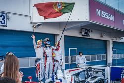 Third place Simon Dolan, Harry Tincknell, Filipe Albuquerque