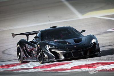 La McLaren P1 GTR poursuit ses essais