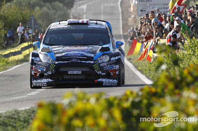 Ken Block and Alex Gelsomino, Ford Fiesta R5