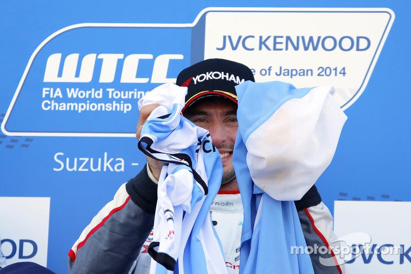 Ganador de la Carrera y 2014 campeón José María López, Citroën C-Elysee WTCC, Citroën Total WTCC