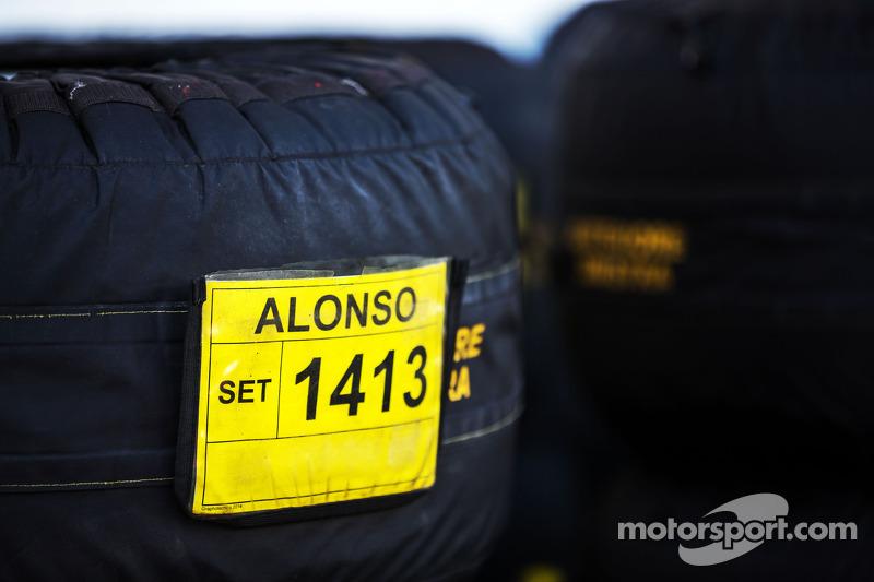 Termocoperte per Fernando Alonso, Ferrari