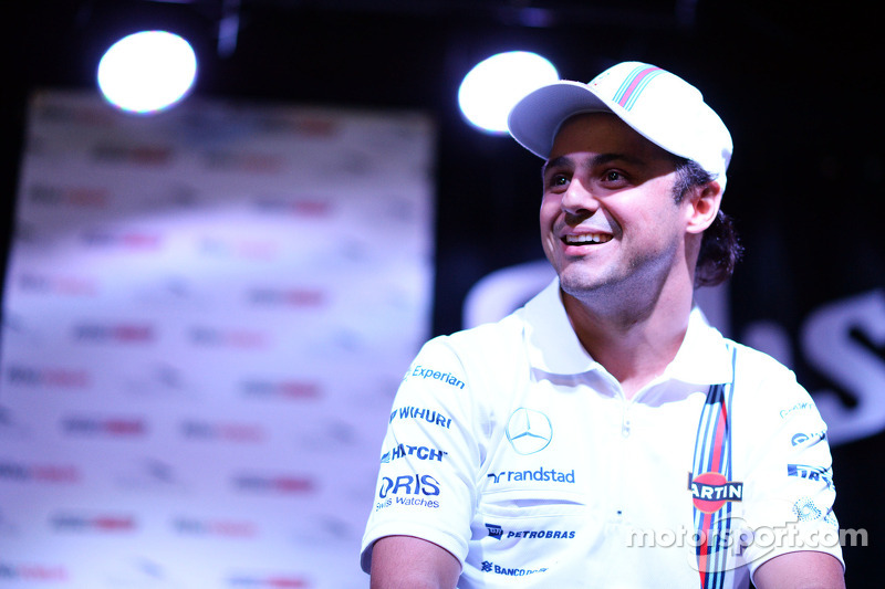 Felipe Massa, Williams Taraftar Forum'unda