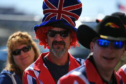 Fãs britânicos