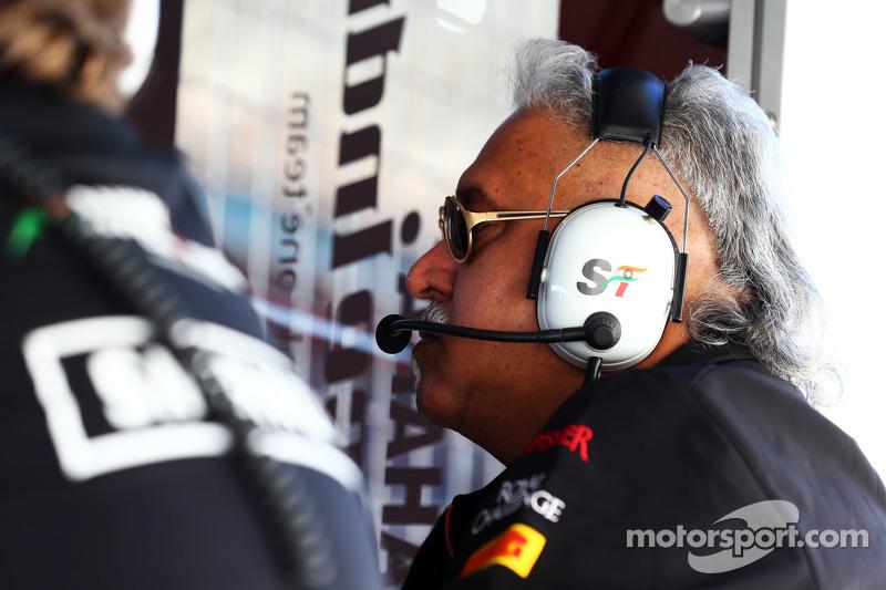 Dr. Vijay Mallya, Sahara Force India F1 Takım Sahibi