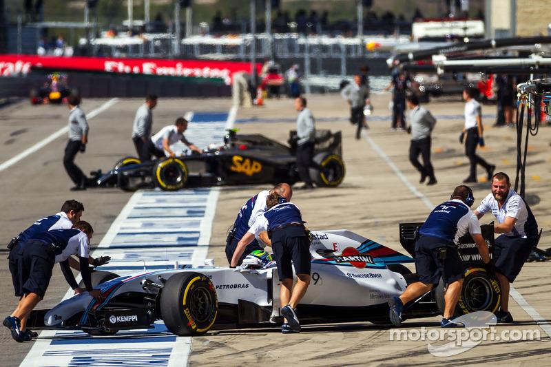 Felipe Massa, Williams FW36 pitte