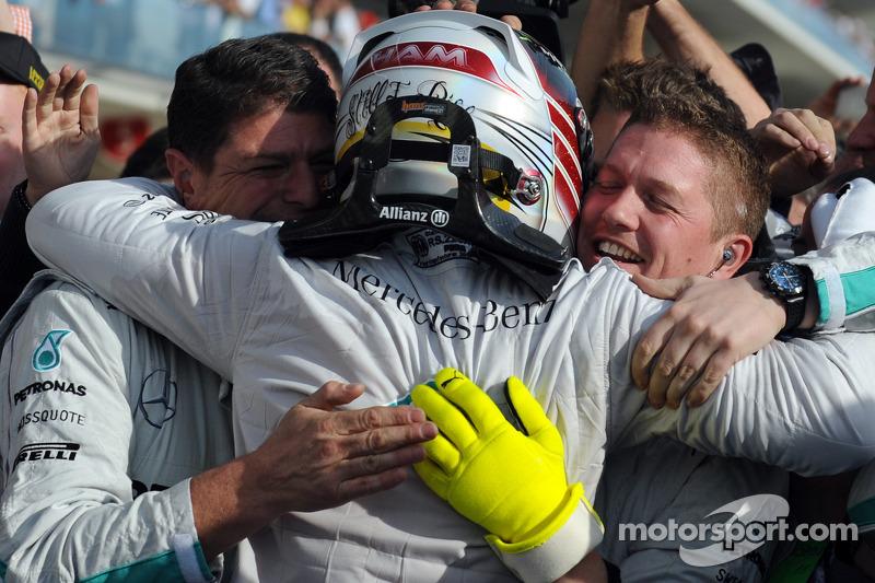 2014: Lewis Hamilton (Mercedes W05)