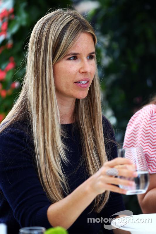 Vivian Rosberg, esposa de Nico Rosberg