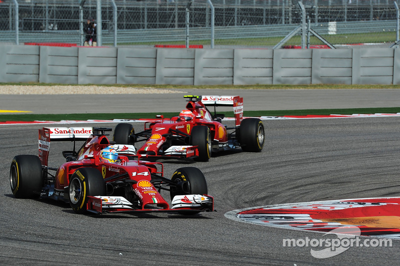 Fernando Alonso, Ferrari F14-T ve Kimi Raikkonen, Ferrari F14-T