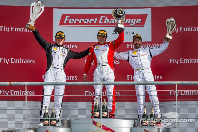 TP podio: vincitore della gara Ricardo Perez, secondo posto Scott Tucker, il terzo posto Mark McKenzie