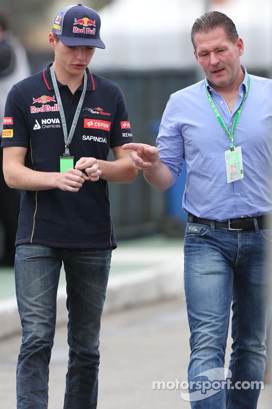 Max Verstappen, Scuderia Toro Rosso y his fader Joss