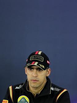 FIA-Pressekonferenz: Pastor Maldonado, Lotus F1 Team