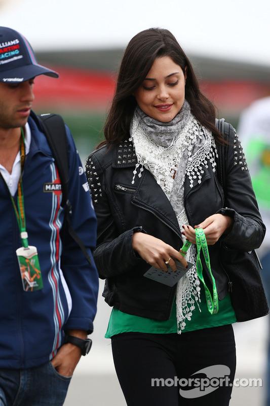 Felipe Nasr, Williams e Giulia Maria Testoni