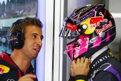 Antonio Felix da Costa, Red Bull Racing Test Driver with Sebastian Vettel, Red Bull Racing