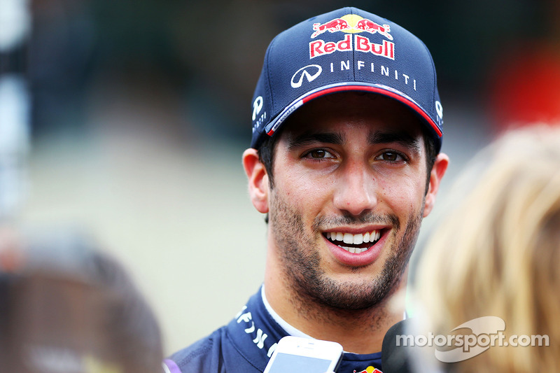 Daniel Ricciardo, Red Bull Racing ve medya