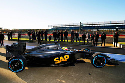 Oliver Turvey prova la McLaren Honda