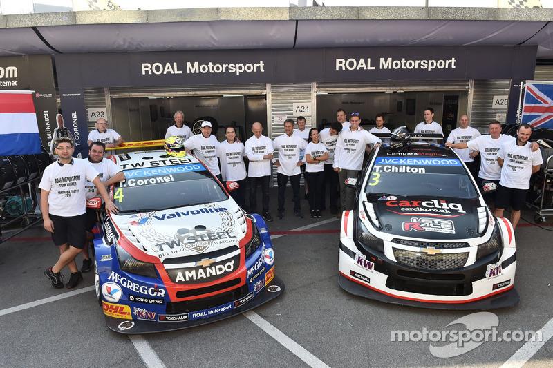 Vincitore Yokohama Teams' Trophy Team Roberto Ravaglia, Team Roal Motorsport