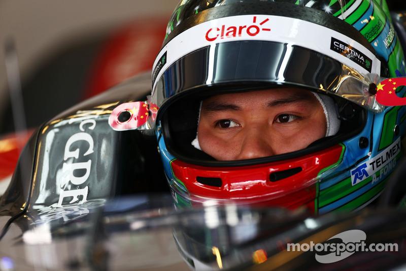 Adderly Fong, Sauber C33 Test Driver
