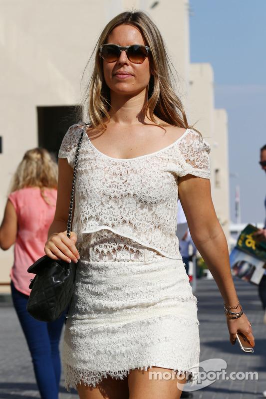 Vivian Rosberg, esposa de Nico Rosberg, Mercedes AMG F1