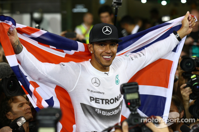 First place and World Champion Lewis Hamilton, Mercedes AMG F1 W05