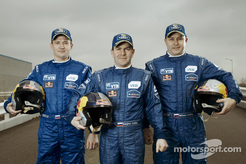 Igor Leonov, Andrey Karginov ve Andrey Mokeev