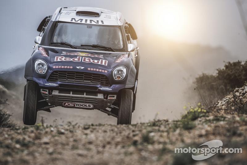 #301 Qatar Rally Team Mini: 纳瑟尔·阿尔阿提亚, Matthieu Baumel