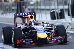 Carlos Sainz Jnr, piloto de testes da Red Bull Racing RB10