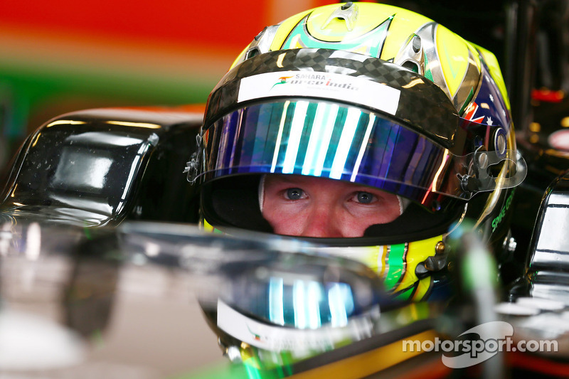 Spike Goddard, Sahara Force India F1 VJM07 piloto de pruebas