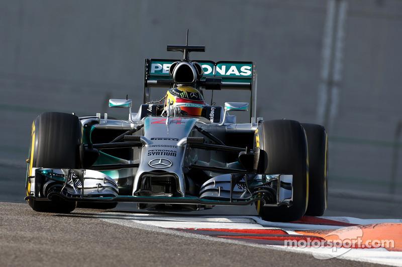 Ноябрь 2014: Паскаль Верляйн. Тесты в Абу-Даби с Mercedes
