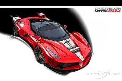 法拉利设计概念车