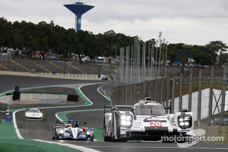 #20 Porsche 919 Hybrid: Timo Bernhard, Brendon Hartley, Mark Webber